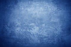 Struttura concreta blu fredda Fotografie Stock