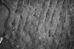 Struttura concreta del pavimento di lerciume Fotografia Stock