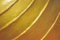 Struttura concreta dorata Fotografie Stock Libere da Diritti