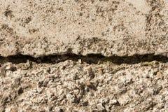 Struttura concreta grigia della pietra del cemento di Brown Fotografia Stock Libera da Diritti