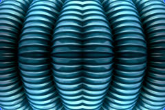 Struttura costolata blu Fotografia Stock Libera da Diritti