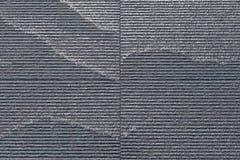 Struttura costolata dell'acqua della parete di pietra Immagine Stock
