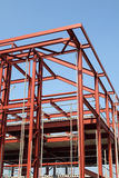 Struttura d'acciaio Fotografia Stock