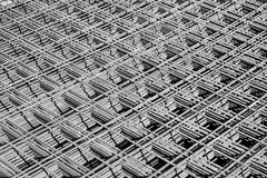 Struttura d'acciaio Fotografie Stock