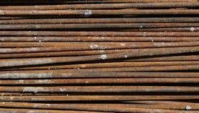 Struttura d'acciaio dell'asta Immagine Stock Libera da Diritti
