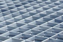 Struttura d'acciaio di griglia Fotografia Stock
