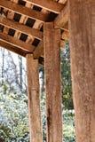Struttura d'annata del portico Immagine Stock
