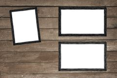 Struttura d'annata della foto su fondo di legno royalty illustrazione gratis
