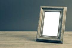 Struttura d'annata della foto sulla tavola di legno Fotografia Stock