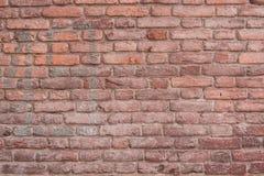 Struttura d'annata di un muro di mattoni fotografia stock libera da diritti