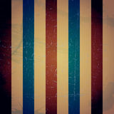 Struttura d'annata a strisce colorata Fondo di lerciume Fotografia Stock Libera da Diritti
