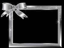 Struttura d'argento Fotografia Stock