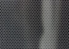 Struttura da un letto-NET semplice sulla finestra Fotografie Stock Libere da Diritti