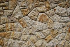 Struttura dalla parete di pietra naturale Immagini Stock Libere da Diritti