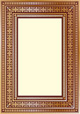 Struttura decorata d'annata di lusso per la vostra progettazione di arte Fotografia Stock