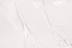 Struttura decorativa del gesso, contesto bianco di sollievo Fotografia Stock