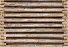 Struttura decorativa della parete di pietra Fotografia Stock Libera da Diritti