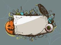 Struttura decorativa di Halloween Immagine Stock Libera da Diritti