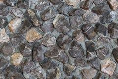 Struttura decorativa di pietra delle mattonelle Fotografia Stock