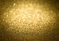 Struttura decorativa di scintillio brillante magico dorato, strutturato metallico Fotografia Stock