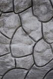 Struttura decorativa geometrica del modello sul muro di cemento del cemento Immagine Stock Libera da Diritti