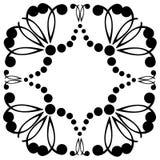 Struttura decorativa Reticolo geometrico Immagine Stock Libera da Diritti