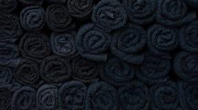Struttura degli asciugamani torti Immagine Stock Libera da Diritti