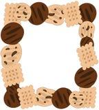 Struttura dei biscotti Fotografia Stock Libera da Diritti