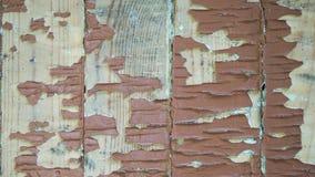 Struttura dei bordi dipinti con pittura esfoliata Immagine Stock