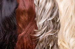 Struttura dei capelli Immagine Stock