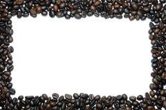 Struttura dei chicchi di caffè. Immagini Stock