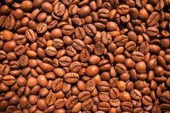 Struttura dei chicchi di caffè Immagini Stock