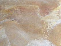 Struttura dei colori di beige del fondo di astrattismo Fotografia Stock Libera da Diritti