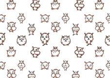 Struttura dei criceti domestici dei tipi e delle forme differenti Illustrazione di Stock