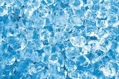 Struttura dei cubi di ghiaccio Fotografia Stock Libera da Diritti