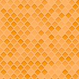 Struttura dei diamanti arancia, favo, fondo del miele, immagine Fotografia Stock Libera da Diritti