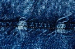 Struttura 2 dei jeans Fotografie Stock