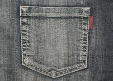 Struttura dei jeans (casella) Fotografie Stock Libere da Diritti