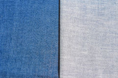 Struttura dei jeans del denim Fotografie Stock