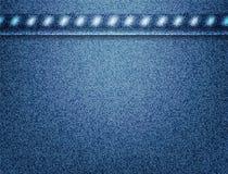 Struttura dei jeans di vettore Fotografia Stock Libera da Diritti