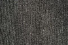Struttura dei jeans neri Immagini Stock