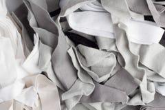 Struttura dei pezzi variopinti di tessuto Immagine Stock