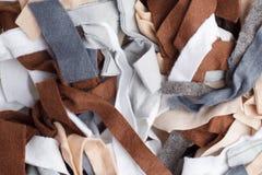 Struttura dei pezzi variopinti di tessuto Immagine Stock Libera da Diritti