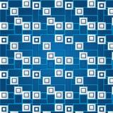Struttura dei quadrati volumetrici bianchi Fotografie Stock Libere da Diritti