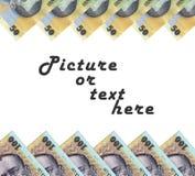 Struttura dei soldi Fotografie Stock