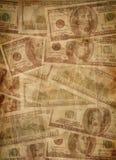 Struttura dei vecchi soldi Immagini Stock