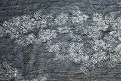 Struttura dei vestiti tricottati grigi caldi di inverno fotografie stock libere da diritti