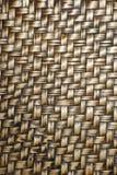 Struttura del bambù del tessuto Fotografie Stock
