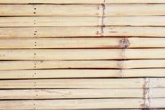 Struttura del bambù di Brown Fotografie Stock