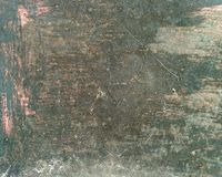 struttura del bordo d'acciaio stagionato dipinto anziano con parecchi strati di pittura con le crepe fotografia stock